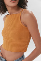 Truly Madly Deeply Ribbed Square Neck Cami