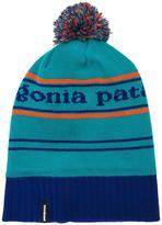 Patagonia pom-pom striped beanie