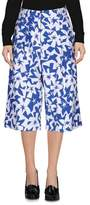 Jil Sander Navy 3/4-length trousers