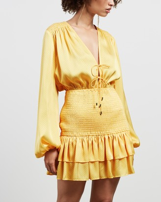 Significant Other Women's Orange Mini Dresses - About You Dress - Size 8 at The Iconic