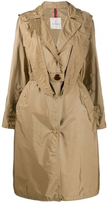 Moncler Hooded Trench Coat