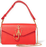 J.W.Anderson Logo Leather Shoulder Bag - Red
