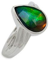 Korite Bella Ammolite Silver Ring
