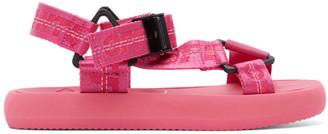 Off-White Pink Trek Sandals