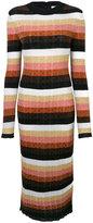 Fendi knitted dress - women - Polyamide/Polyester/Wool - 42