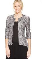 Alex Evenings Lace Peplum Jacket