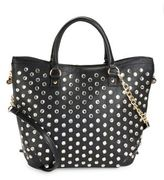 Betsey Johnson Stud Accent Tote
