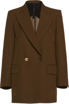 Petar Petrov Jazz Double-Breasted Wool-Blend Jacket