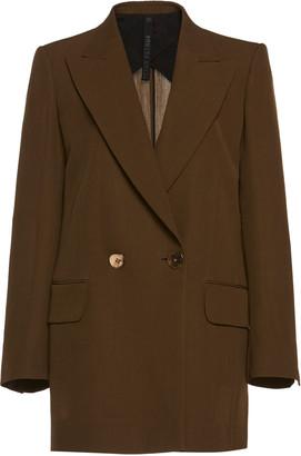 Petar Petrov Jazz Double-Breasted Wool-Blend Jacket