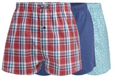 Mantaray Big And Tall Pack Of Three Turquoise Surfboard Print Boxer Shorts