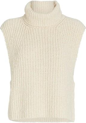 Etoile Isabel Marant Megan Sleeveless Turtleneck Sweater