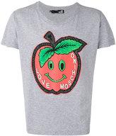 Love Moschino apple printed T-shirt - men - Cotton - M