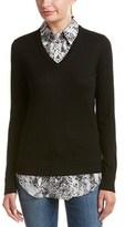 Equipment Cashmere-blend Sweater Combo.