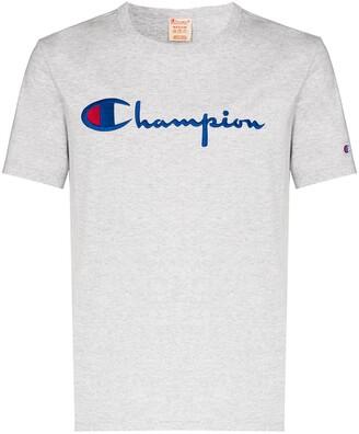 Champion script embroidered logo T-shirt