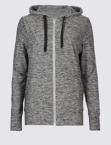 M&S Collection Supersoft Printed Hooded Top