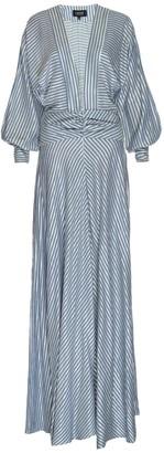 Sanji Long Sleeve V-Neck Sundress