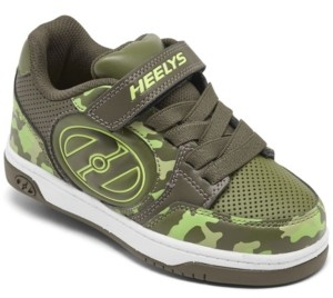 Heelys Little Boys Plus X2 Light-Up Wheeled Stay-Put Closure Casual Athletic Skate Sneakers from Finish Line
