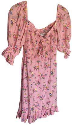 Faithfull The Brand Pink Cotton Dresses