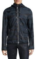 Diesel Camouflage Leather Jacket