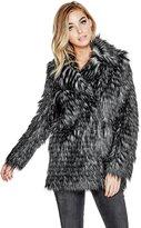 GUESS Anna Faux-Fur Jacket