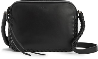 AllSaints Courtney Leather Crossbody Bag