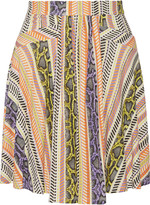 Just Cavalli Printed jersey skirt