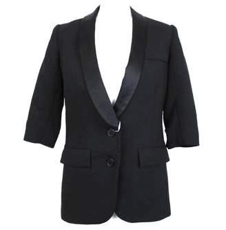 Smythe Black Wool Jackets