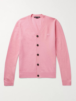 Acne Studios Keve Logo-Appliqued Wool Cardigan