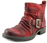 Earth Jericho Women Round Toe Leather Burgundy Boot.