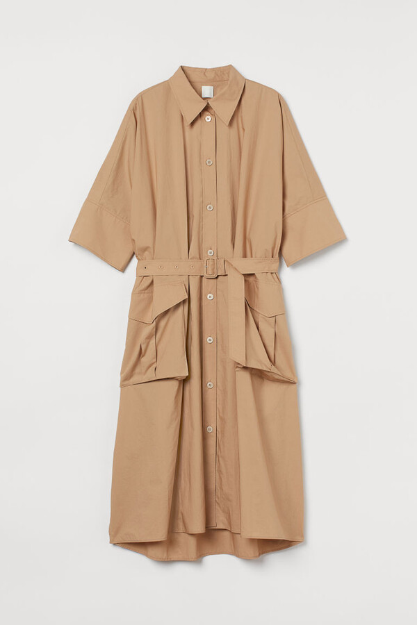 Thumbnail for your product : H&M Cotton shirt kaftan