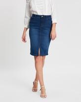 Dorothy Perkins Denim Midi Skirt