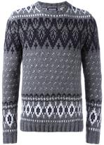 Woolrich patterned jumper