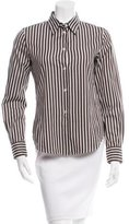 Loro Piana Striped Button-Up Top w/ Tags