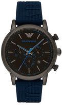 Emporio Armani Men's Ion Plated Strap Watch