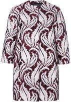 Giambattista Valli abstract jacquard pattern jacket