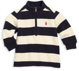 Ralph Lauren Baby's Striped Half-Zip Sweatshirt