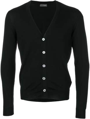 Drumohr long sleeved V-neck cardigan