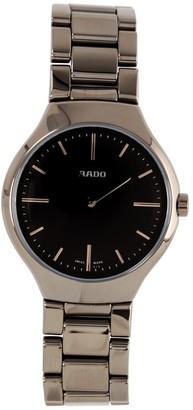 Rado Women's Quartz Watch with Silver XS S Analogue Quartz Ceramic r27.956.15.2Thin Line