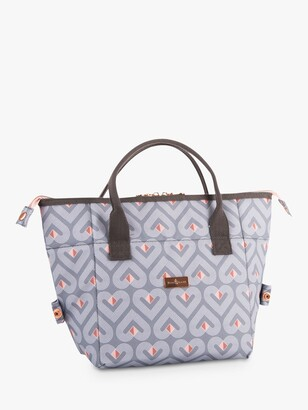 Beau & Elliot Vibe Convertible Lunch Cooler Tote Bag, 8L, Grey/Multi
