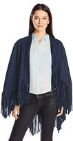 La Fiorentina Women's Wrap with Fringe