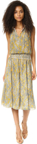Twelfth St. By Cynthia Vincent Smocked Waist Dress