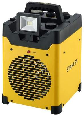 Stanley ST-400LED-120 1500W Heavy Duty Heater with LED Light and USB, Yellow