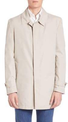 Isaia Double-Face Trench Coat