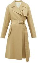 Joseph Lewis Cotton-blend Gabardine Trench Coat - Womens - Tan