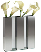 Torre & Tagus Mirror 3-Panel Section Vase