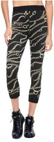 Juicy Couture Sport Printed Sporty Chain Capri Legging