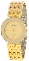 Rado Women's Florence 23mm Plated Bracelet & Case S. Sapphire Quartz -Tone Dial Watch R48745263