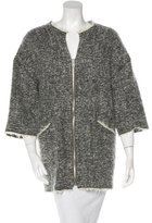 Isabel Marant Virgin Wool & Mohair-Blend Jacket