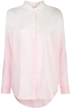 Sundry Long Sleeve Sheer Shirt