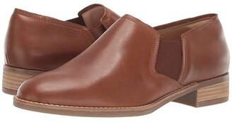Clarks Netley Bright (Tan Leather) Women's Shoes